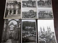 100 historische Postkarten Ansichtskarten AK Deutschland  Europa ca. 1929-60