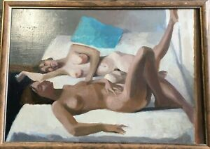 Yves Hersent- painting on canvas hand painted
