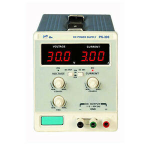UniSource PS-305 Single Output DC Power Supply, 30V/5A