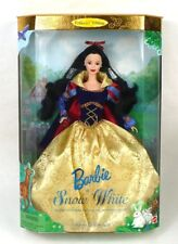 NRFB SNOW WHITE BARBIE Brunette Collector Edition 1998