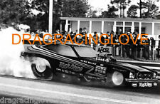 """Pee Wee Wallace """"Black Stang"""" 1976 Ford Mustang II NITRO Funny Car PHOTO!"""