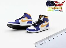 """1/6 male sneakers basketball Purple shoes 12"""" phicen enterbay Kobe hot toys❶USA❶"""