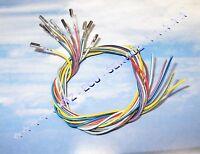 10x 15cm Reparatur-Leitungen Kabel 0,50mm² 000979009E Kontakt VW Audi Seat BMW