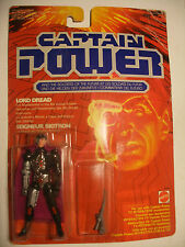 GI joe mattel 1987 action figure CAPTAIN POWER LORD DREAD Seigneur BIOTRON NEUF