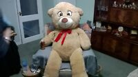 NEW XXL GIANT TEDDY BEAR APPROX 1.7M TALL IDEAL BIRTHDAY GIFT POSTED GIRLFRIEND