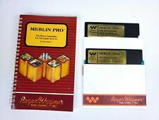Apple IIe llc Merlin Pro - The Macro Assembler 6502 - Roger Wagner Publishing
