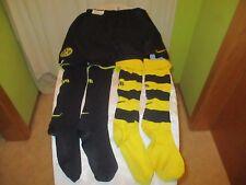 Borussia dortmund 3 piezas camiseta set pantalones/short + 2x recortar 2005/06 talla s-m top