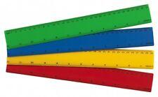 "12"" gobernantes colores-paquete de 12 30 cm a prueba de plástico inastillable gobernantes mezclados"