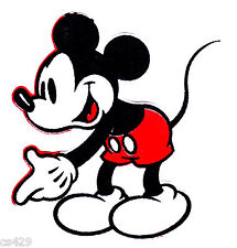 """3"""" Disney mickey mouse fabric applique iron on character"""