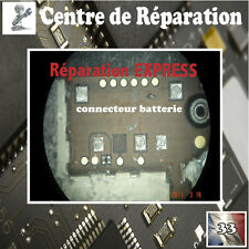 Réparation connecteur batterie iphone 4 micro soudure repair battery connector