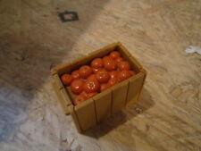 Fisher Price Little People food crate box of oranges semi truck walmart fruit