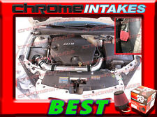 K&N+BLACK RED 04 05 06 07-10 CHEVY MALIBU/PONTIAC G6 3.5 3.5L V6 COLD AIR INTAKE