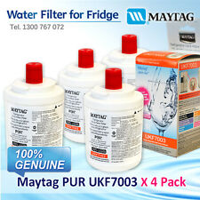 4x Maytag PUR UKF7003 Fridge Water Filter UKF7003AXX 100% GENUINE BRAND AU POST