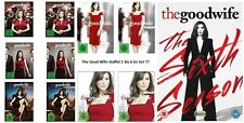 36 DVDs * THE GOOD WIFE - SEASON / STAFFEL 1-6 (1.1.-5.2 + 6) IM SET# NEU OVP +