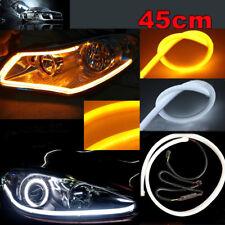 2x 45cm Illuminate White/Amber Switchback LED Strip Lights Headlight Side Glow