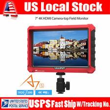 "Lilliput 7"" IPS A7S 4K Camera Monitor FHD HDMI 1920x1200 170° DJI Ronin M LP-E6"