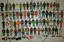 Lot of 67 Gi Joe 1980-1990's  GI Joe Cobra Figure Lot w/ Accessories Free Ship!
