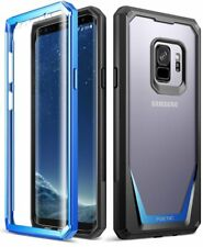 POETIC Guardian Blue Case【Full-Body Rugged】Case For Samsung Galaxy S9 (2018)