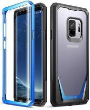 Full-Body Hybrid Rugged Bumper Case For Samsung Galaxy S9 Cover Blue