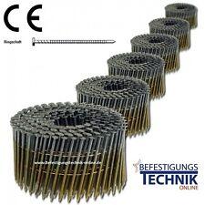 4050 Coilnägel 16° 3,1 x 90 mm Ring für  Bostitch Hitachi Prebena BeA Coilnagler