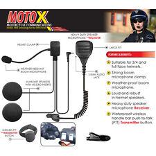 Tactical Ear Gadgets MOTOX Motorcycle Headset for Motorola HT MTX MTP PTX Radios