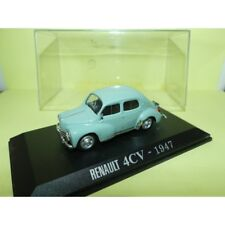 RENAULT 4CV 1947 Vert Pale UNIVERSAL HOBBIES Collection M6 1:43