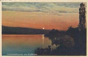 Uster, Sonnenuntergang am Greifensee gl1934 E0687