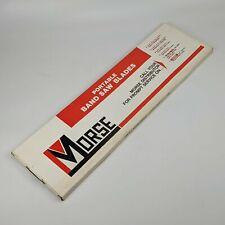 Morse 53 34 X 12 X 020 14 Tpi Bi Metal Portable Band Saw Blades 3pk