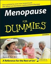 Menopause for Dummies NUTRITION WOMEN HEALTH HORMONES CHANGE HEART, NEW BOOK