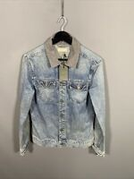 ALLSAINTS KILMORY DENIM Jacket - Size Small - Blue - NEW WITH TAGS - Men's