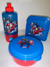 NEW Zak! Marvel AVENGERS Water Bottle/snack container, sandwich container, snack