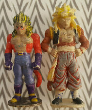DRAGON BALL Z SON GOKU - LOT OF 2 RARE 14CMS. FIGURE / TORIYAMA