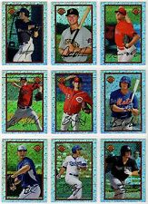 2014 Bowman Draft '89 Bowman is Back Silver Diamond Refractor You Pick the Card