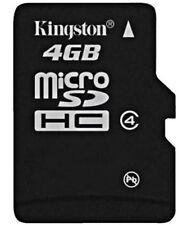 Cartes mémoire Kingston microsdhc pour téléphone mobile et assistant personnel (PDA), 4 Go