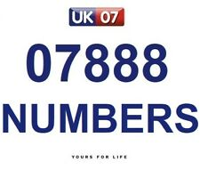 07888 COMING SOON - Gold Easy Memorable Business Platinum VIP Mobile Numbers