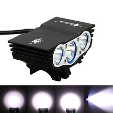 10000Lm 3x U2 LED Rechargeable Mountain Bike Bicycle Light Headlight Headlamp