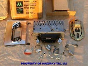 Motorola Transistor Radio Kit Buick Electra_Invicta_LeSabre 1962 NOS