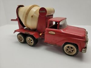 "Vintage Tonka 1961 Cement Mixer Truck no.120 16"" pressed steel"