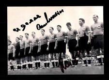 Deutschland Weltmeister 1954 Foto 3x Original Signiert+A 150774