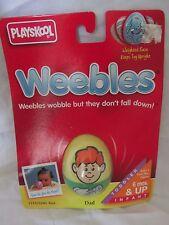 New Vintage Playskool Weebles Toy 5211/5241 Caucasian Dad 1995 Hasbro