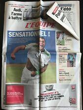 L'Equipe Journal 11/06/2011; 24 heures du Mans/Nadal éliminé en 1/4 du Queen's