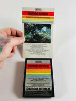 Vintage 1982 Atari 2600 iMagic Demon Attack Video Game w/ Instructions UNTESTED