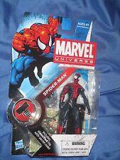 "MARVEL UNIVERSE 3 3/4"" Figure by Hasbro #1 Series 2 ~SPIDERMAN Amazing/Movie"
