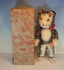 Schuco Bigo Bello Werbefigur Koko Katze Hören und Sehen 30cm 50/60er Jh. OVP