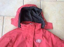Jacke C&A Mädchen rot mit rosa Fleece Größe 98