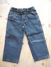 lässige ESPRIT Jeans Gr 104 schwarz Denim Freizeithose Unisex Jungen Mädchen
