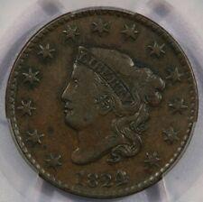1824/2 Large Cent Pcgs Vf25 Beautiful original coin