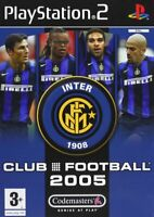 PS2 Playstation Fc Internazionale Club Football 2005 PAL ITA Usato OTTIMO