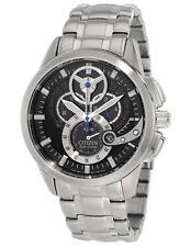 Citizen AT2060-52E Eco-Drive Chronograph Date 3D Black Dial Men's Watch $450