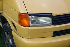 VOLKSWAGEN T4 VW HEADLIGHT BROWS EYELIDS EYEBROWS ABS PLASTIC TUNING